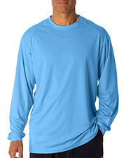 Badger 4104  Adult B-Dry Core Long-Sleeve Performance Tee at GotApparel