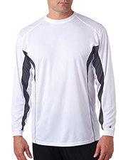 Badger 4157  Colorblock Long Sleeve Tee at GotApparel