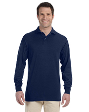 Jerzees 437ML  5.6 oz 50/50 Long-Sleeve Knit Polo with SpotShield™ Stain Resistance at GotApparel