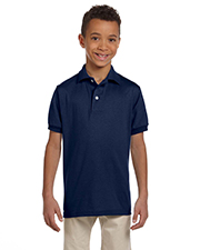 Jerzees Youth 50/50 Jersey Polo w/SpotShield