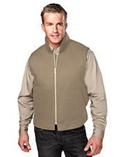 Tri-Mountain 4400 Men  Lodestar Cotton Canvas Work Vest With Quilted Lining