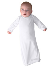 Rabbit Skins 4406  Infant Rib Layette at GotApparel