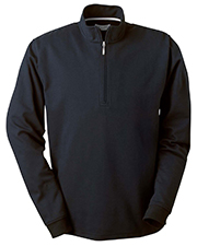 Ashworth Mens Micro Brushed Half-Zip Jacket
