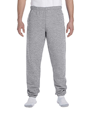 Jerzees 4850P Men 9.5 oz., 50/50 Super Sweats NuBlend Fleece Pocketed Sweatpants