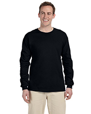 Fruit of the Loom 4930  5.6 oz Cotton Long-Sleeve T-shirt at GotApparel