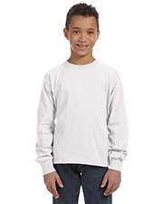 Fruit of the Loom 4930B Boys 5 oz., 100% Heavy Cotton HD LongSleeve T-Shirt