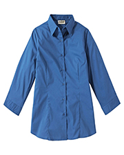 Edwards 5029 Women s Spread Collar 3/4 Sleeve Maternity Shirt at GotApparel