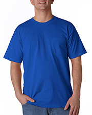 Bayside 5070  Men Short Sleeve Pocket Tee.  at GotApparel