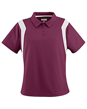 Augusta 5076 Women Wicking Textured Sideline Sport Shirt at GotApparel