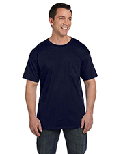 Hanes 5190P Men 6.1 oz. BeefyT with Pocket