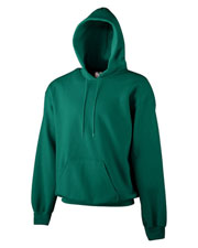 Augusta 5201 Girls Heavyweight Color Blocked Hooded Sweatshirt at GotApparel