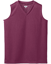 Augusta 526  Girl's Wicking Mesh Sleeveless Jersey