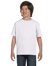 Hanes 5480 Boys 5.2 oz. ComfortSoft Cotton T-Shirt at GotApparel