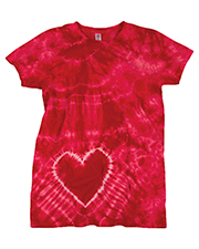 Gildan Tie-Dyes 55 Women Dyenomite Heart Tee at GotApparel