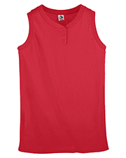 Augusta 550   Women Sleeveless Two-Button Softball Jersey at GotApparel