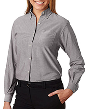 Van Heusen 58800  Ladies Classic Long-Sleeve Oxford at GotApparel
