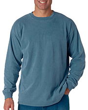 Chouinard 6014 Comfort Colors by  Adult Heavyweight Long-Sleeve Tee at GotApparel