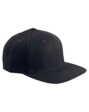 Yupoong 6089  Unisex 6Panel Structured Flat Visor Classic Snapback at GotApparel