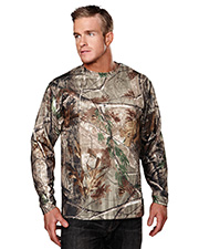 Tri-Mountain 622C Polyester mesh long sleeve shirt with Realtree APÉ &  UltraCoolÓ. at GotApparel