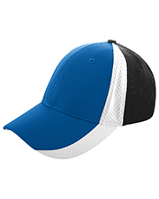 Augusta 6247 Men Sport Flex 3-Color Athletic Mesh Cap