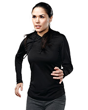 Tri-Mountain 629  Women's 100% Polyester Pullover Hoody with  UltraCool at GotApparel