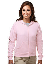 Tri-Mountain 639  Women's Cotton/Poly Full Zip Hooded Sweatshirt at GotApparel
