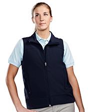 Tri-Mountain 6410  Women's Poly Stretch Bonded Soft Shell Vest at GotApparel