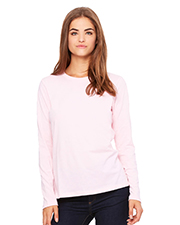Bella + Canvas 6450 Women BELLA+CANVAS Ladies' Relaxed Jersey Long-Sleeve Tee
