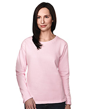 Tri-Mountain 672  Women's Cotton/Poly Sueded Finish Crewneck Sweatshirt at GotApparel