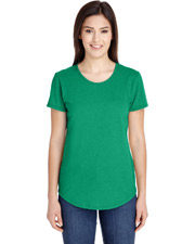 Anvil 6750L Women Triblend Scoop Neck Short Sleeve T-Shirt at GotApparel