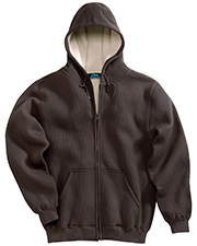 Tri-Mountain 697 Men's Marshall Thermal Full Zip Hooded Sweatshirt at GotApparel