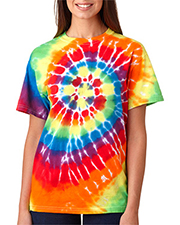 Gildan Tie-Dyes 70 Dyenomite Adult Multi-Spiral Tee at GotApparel