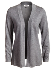 Edwards 7056 Women s Long-Sleeve Hemmed Cuff Open Front Cardigan Sweater at GotApparel