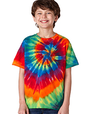 Dyenomite Youth Multi-Spiral Tee