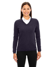 North End 71010 Women Merton Soft Touch V-Neck Sweater at GotApparel