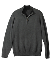 Edwards 712ED Quarter Zip Sweater at GotApparel