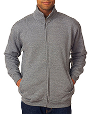 Weatherproof 7175   Men Cross Weave FullZip WarmUp Sweatshirt at GotApparel