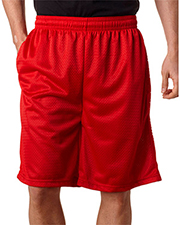Badger 7219 Men Mesh/Tricot 9&quot Shorts with Pockets at GotApparel