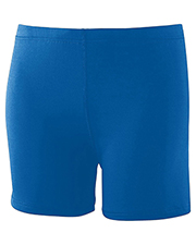 Augusta 743  Girl's Poly/Spandex Short