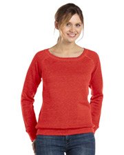 Bella Ladies Mia Slouchy Wideneck Fleece