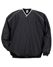 Badger 7601  Piped Microfiber Windshirt at GotApparel