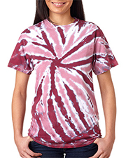 Gildan Tie-Dyes 77  Adult One-Color Pinwheel Tee at GotApparel