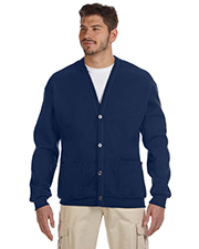 Jerzees 773M 8 oz. NuBlend® 50/50 Cardigan at GotApparel