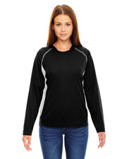 North End 78079 Women Athletic Long Sleeve Sport Top at GotApparel