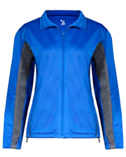 Badger 7903  Lady Tricot Zip Jacket at GotApparel