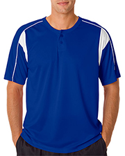 Badger 7937  Adult B-Dry Pro Henley Tee at GotApparel