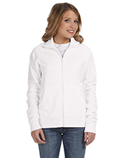 Bella + Canvas 807 Women Ladies' Cotton/Spandex Cadet Jacket