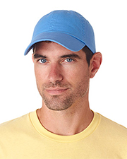 UltraClub 8102  Classic Cut Chino Cotton Twill Unconstructed Cap at GotApparel
