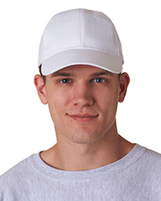 UltraClub 8110  Unisex Classic Cut Brushed Cotton Twill Constructed Cap