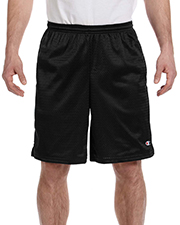 Champion 81622 Long Mesh Shorts with Pockets at GotApparel